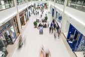 Busy corridor in Mall of America — Photo