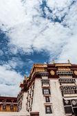 Exterior of Potala Palace in Tibet — Φωτογραφία Αρχείου