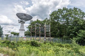 Radar station during sunny day — Foto Stock