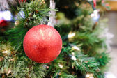 Christmas decorations on a tree — Foto Stock