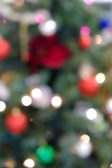 Holiday background with blurred lights — Stok fotoğraf