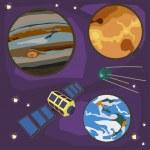 Space Set — Stock Vector #49415135