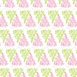 Floral Pattern_light pink and green — Grafika wektorowa