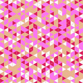 Triangle Mosaic Seamless Pattern — Stock Vector