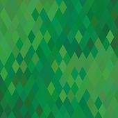 Sfondo geometrico verde — Vettoriale Stock