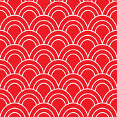 Japanese Wave Seamless Pattern — Stock Vector