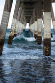 Wrightsville Beach North Carolina Under the Pier — Stockfoto