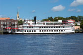 Wilmington,NC July 17 Henrietta III Riverboat — Stock Photo