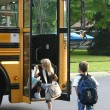 Kids Going to School — Stock Photo