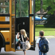 Stock Photo: Kids Going to School