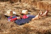 Boys Sleeping — Stock Photo