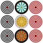 Targets Set. — Stock Vector