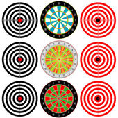 Targets Set. — Stock Vector