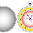 Pocket watch — Stock Vector