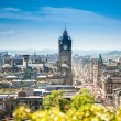 View from Calton Hill to the Edinburgh City, Scotland — Stock Photo #33775309