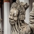 Chinese stile stone statue in Wat Pho, Bangkok — Stock Photo