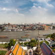Panorama of Bangkok city — Stock Photo