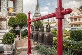 Buddhist bells at Wat Arun in Bangkok — ストック写真