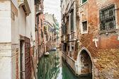Canal street in Venice, Italy — Stock fotografie