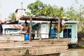 Vietnam December 10, 2013. People of Mekong Delta, South Vietnam — Stock Photo
