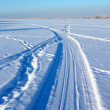 Stock Photo: Winter way