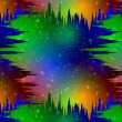 Colorful space abstract background — Stock Photo