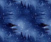 Blå space abstrakt bakgrund — Stockfoto