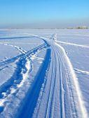 Vintern sätt — Stockfoto