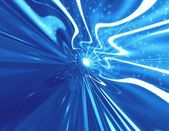 Abstraction blue space — Stock Photo