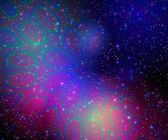 Colorful space bubbles — Stock Photo
