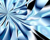 Abstract bright blue background — Stock Photo