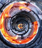 Fiery abstract background — Stock Photo