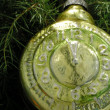 Stock Photo: Christmas alarm-clock