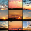 Sunsets — Stock Photo