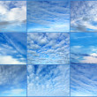 Stock Photo: Various sky