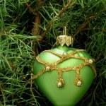 Chrismas tree with toy — Stock Photo