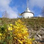 Autumn in Russian monastery — Stock Photo