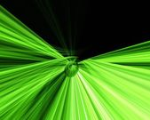 Green and black abstract — Stock Photo