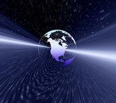 Glob planeta — Zdjęcie stockowe