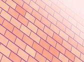 Brick red wall — Stock Photo