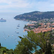 Azure coast of France, the state Monaco — Stock Photo