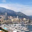 Azure coast of France, the state Monaco, capital Monte-Carlo — Stock Photo