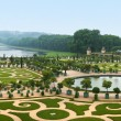 Landscaping architecture of palace Versailles, France — Stock Photo