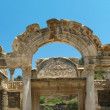 Antiquity greek city- Ephesus. Panorama — Stock Photo