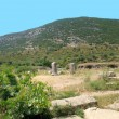 Ruins of antiquity greek city — Foto de Stock