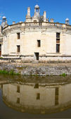 Architecture of castle Shambod on river Loire, France — Stock Photo