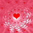 Valentine's day background with hearts — Lizenzfreies Foto