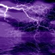 Abstraction  lightning — Stock Photo