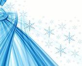 Christmas white abstract — Stock Photo
