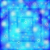 рождество синий фон — Стоковое фото
